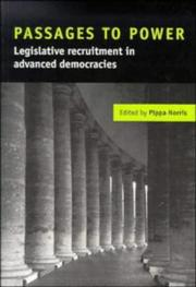 Cover of: Passages to Power: Legislative Recruitment in Advanced Democracies