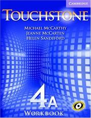 Cover of: Touchstone Workbook 4A (Touchstone) | Michael McCarthy