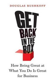 Cover of: Get Back in the Box
