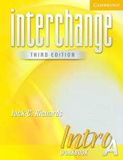 Cover of: Interchange Intro Workbook A (Interchange Third Edition) | Jack C. Richards