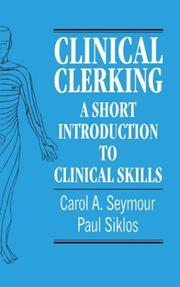 Cover of: Clinical Clerking | Carol A. Seymour