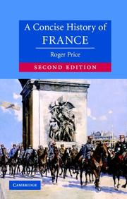 Cover of: A Concise History of France (Cambridge Concise Histories)