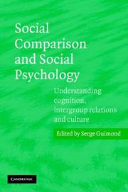 Cover of: Social Comparison and Social Psychology | Serge Guimond