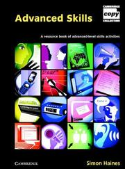 Cover of: Advanced Skills Book and Audio CD Pack (Cambridge Copy Collection)