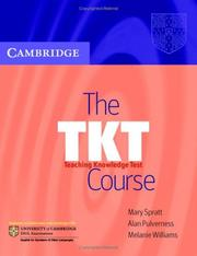 Cover of: The TKT Course | Mary Spratt
