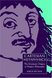 Cartesian Metaphysics by Jorge Secada