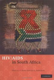 Cover of: HIV/AIDS in South Africa |