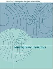 Cover of: Atmospheric Dynamics