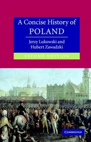 Cover of: A Concise History of Poland (Cambridge Concise Histories) | Jerzy Lukowski