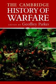 Cover of: The Cambridge History of Warfare