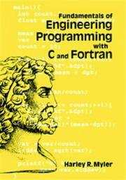 Cover of: Fundamentals of engineering programming with C and Fortran