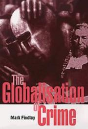 Cover of: The globalisation of crime