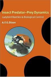 Cover of: Insect Predator-Prey Dynamics