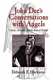 Cover of: John Dee's conversations with angels