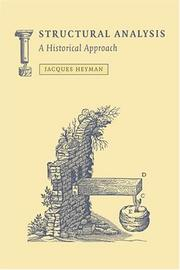 Structural Analysis: A Historical Approach