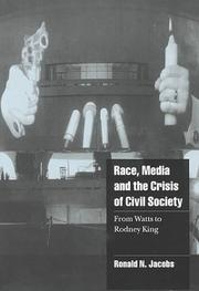 Cover of: Race, media, and the crisis of civil society