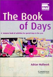 Cover of: The Book of Days Teacher's Book