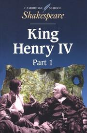 Cover of: King Henry IV