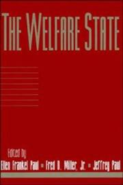 Cover of: The welfare state