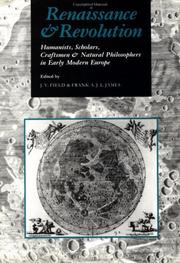 Cover of: Renaissance and revolution