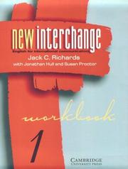 Cover of: New Interchange Workbook 1 | Jack C. Richards