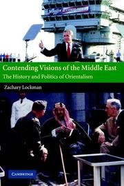 Cover of: Contending visions of the Middle East