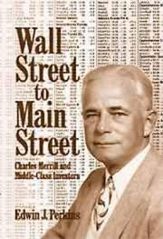 Cover of: Wall Street to main street | Edwin J. Perkins