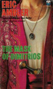 Cover of: The mask of Dimitrios
