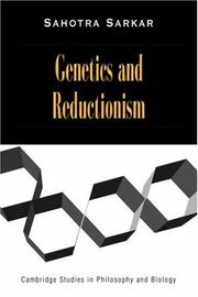 Genetics and reductionism by Sahotra Sarkar