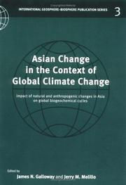 Cover of: Asian Change in the Context of Global Climate Change |