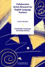 Cover of: Collaborative Action Research for English Language Teachers