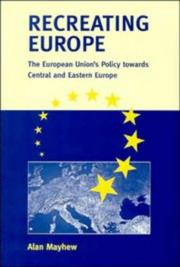 Cover of: Recreating Europe