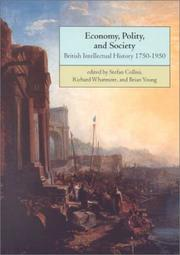 Cover of: Economy, polity, and society