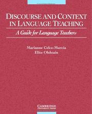 Cover of: Discourse and Context in Language Teaching | Elite Olshtain