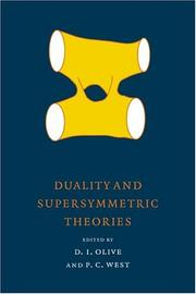 Cover of: Duality and Supersymmetric Theories (Publications of the Newton Institute) |