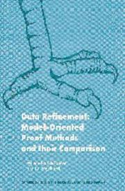 Cover of: Data refinement