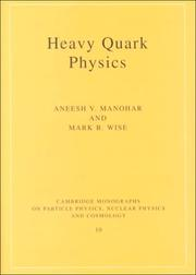 Cover of: Heavy quark physics