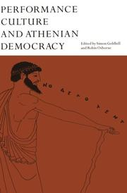 Cover of: Performance Culture and Athenian Democracy