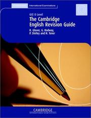 Cover of: The Cambridge Revision Guide | R. Glover