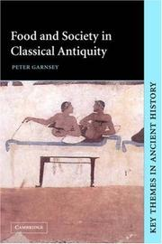 Cover of: Food and society in classical antiquity
