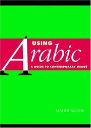 Cover of: Using Arabic | Mahdi Alosh