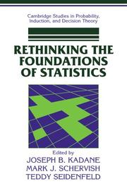 Cover of: Rethinking the foundations of statistics