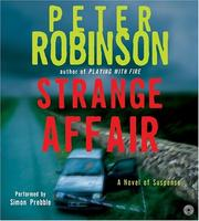 Cover of: Strange Affair CD (Inspector Banks Mysteries) | Peter Robinson