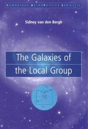 Cover of: The galaxies of the Local Group