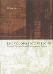 Cover of: Encyclopaedic visions | Richard R. Yeo