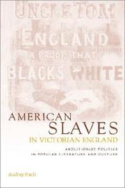 Cover of: American slaves in Victorian England