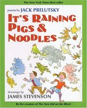 Cover of: It's Raining Pigs & Noodles (rpkg)