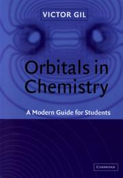 Cover of: Orbitals in Chemistry | Victor M. S. Gil
