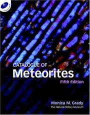Cover of: Catalogue of meteorites