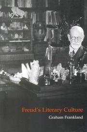 Cover of: Freud's literary culture
